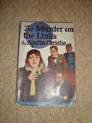 The Murder on the Links by Agatha Christie published by John Lane