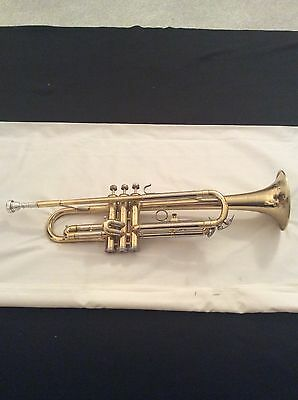 Blessing Scholastic Vintage Trumpet Used With Blessing 7/C Mpc Ready To Play.
