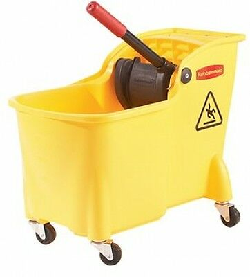 Professional Quality Rubbermaid Professional Plus Mop Bucket With Wringer, 31qt