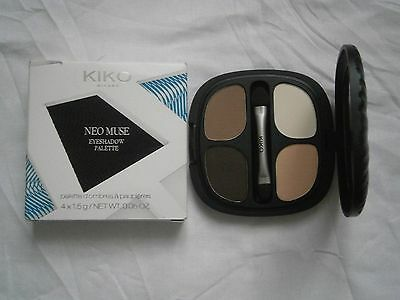 Kiko Palette 4 Ombres A Paupieres Neo Muse