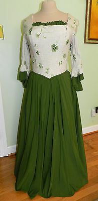 DRASTICALLY REDUCED!  Lady's Colonial Gown - 2 pc - Present for Christmas??