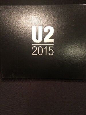 U2 2015 Commemorative VIP Book Limited Edition Innocence + Experience Tour