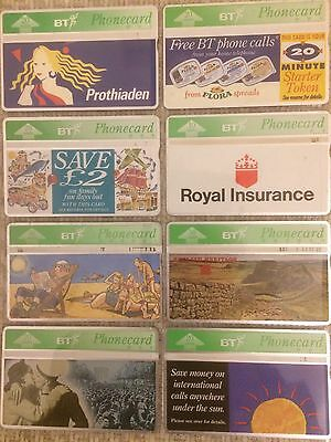Selection of Miscellaneous BT Phonecards
