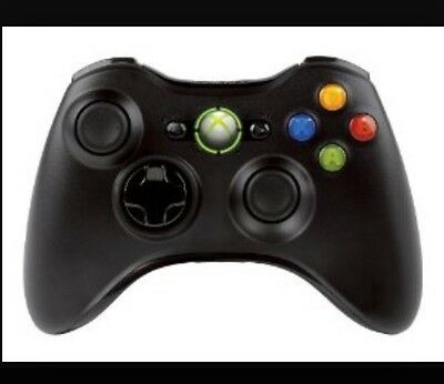 Official Microsoft Xbox 360 Wireless Controller -Black