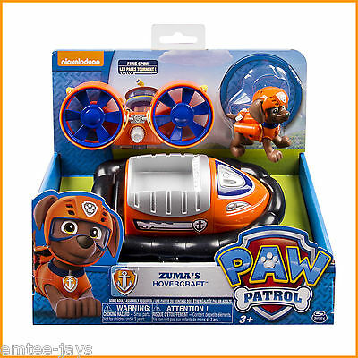 Paw Patrol Zuma Hovercraft Toy - Zuma Toys Paw Patrol - Aussie Seller! Authentic