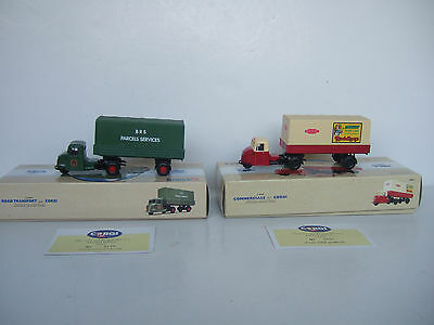Corgi Scammell Scarabs  British Railways and BRS Parcels - 97911 and 97914