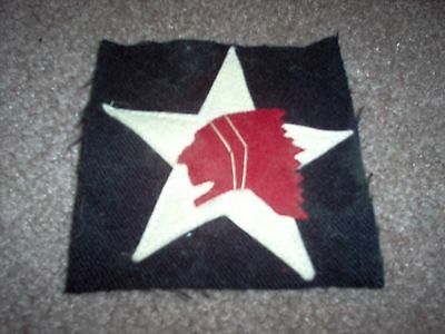 WWI US Army Marine patch 2nd Infantry Division Patch AEF
