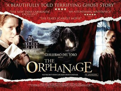 The Orphanage UK cinema quad movie poster [J.A. Bayona, Guillermo del Toro]