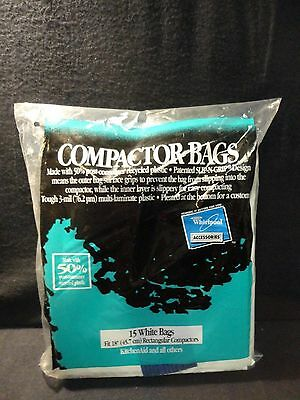 Genuine W10165296RP Whirlpool Trash Compactor Universal Trash Compactor Bags
