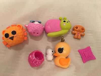 8 x LaLaLoopsy Accessories - Various Toys