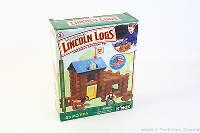 Original Lincoln Logs Horseshoe Hill Station 83 pieces