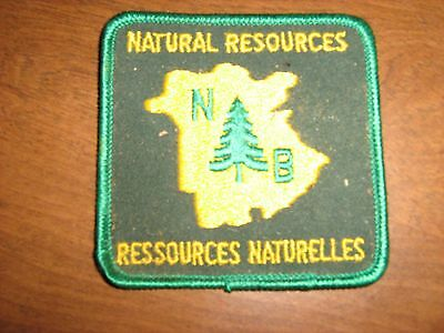 New Brunswick Natural Resources Patch