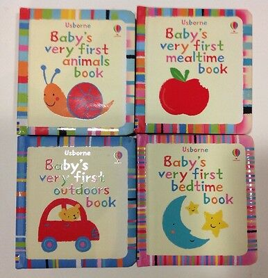 Usbourne Baby's Very First Picture Board Books x 4