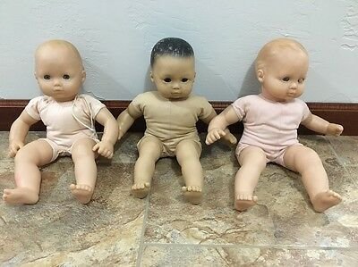 American Girl Bitty Baby Lot Of 3 For Repair/TLC/Parts Dolls-Please Read