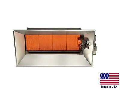 CERAMIC INFRARED HEATER Commercial/Industrial - LP Propane Fired - 52,000 BTU