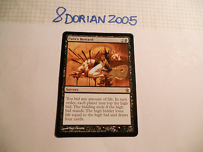 1x MTG Pain's Reward-Ricompensa del Dolore Magic EDH SOK Kamigawa ING Inglese x1