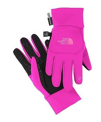 The North Face Youth Etip Glove -Pink -Large