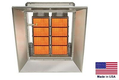 CERAMIC INFRARED HEATER Commercial/Industrial - LP Propane Fired - 65,000 BTU