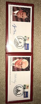 George W Bush. Dick Cheney First Day Cover