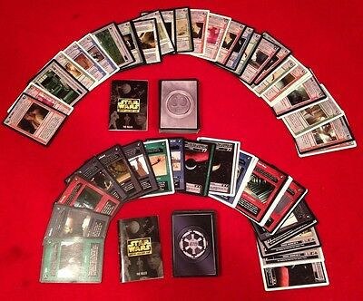 Star Wars Customizable Card Game CCG by Decipher Inc., Lot of 180 Cards