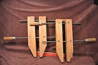 """2 14"""" wood Furniture Clamps"""