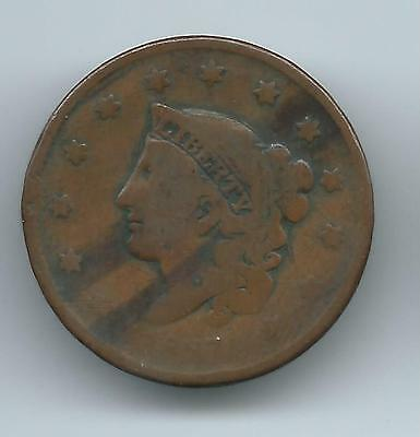 1837 Large Cent Bn   N5 ?
