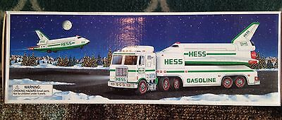 NEW 1999 Hess Toy Truck And Space Shuttle