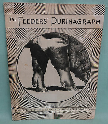 Vintage The Feeders' Purinagraph Ralston Purina Chows Magazine 1930 Holdrege, NE