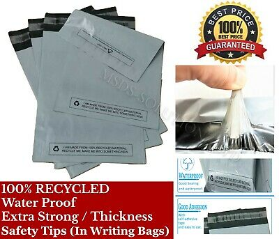 Strong Grey Self Seal Poly Postal Mailing Bags Quality Plastic Postage Mailers