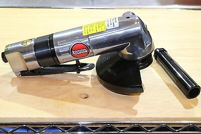 "New Suntech SM-6195 Heavy Duty 4-1/2"" or 5"" Pneumatic Air Angle Grinder 3/8""-24"
