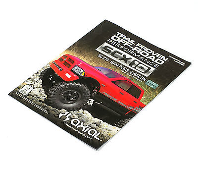 AXIAL SCX10 1/10 Ram Power Wagon instructions parts manual