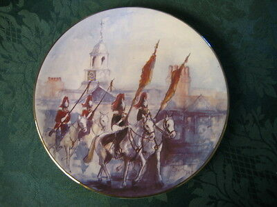 Royal Horse Guard Decorative Display Plate Made In England