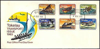 1983 Tokelau Islands - Transport Issue - Fdc - Cover - J52