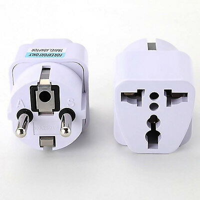 International Travel Universal Charger Adapter Converter For UK US EU AU to EU