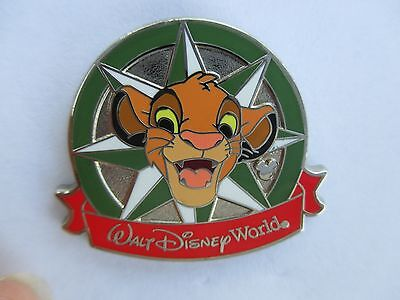 Disney Hidden Mickey Compass Stars Collection Simba Lion King Pin Authentic