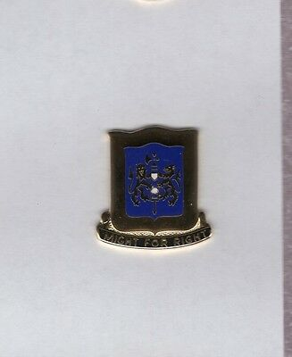 US Army 208th Armored Regiment Armor Tank crest DUI badge c/b G-23