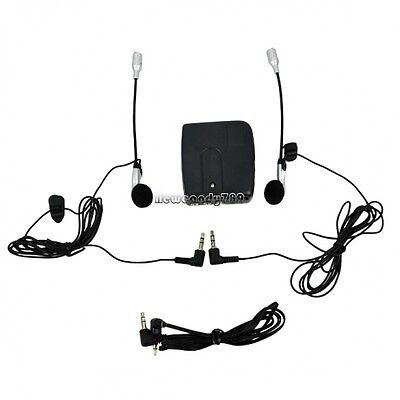 Motorbike Intercom Interphone Headset Motorcycle Helmet To Headse  MP3 NC89