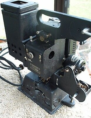 Antique Kodascope Model A 16 mm  Film Projector and Case for Parts or Restore