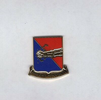 US Army 163rd Armored Regiment Armor Tank crest DUI badge c//b G-23