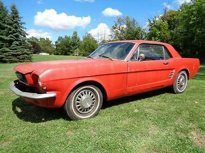 1966 Ford Mustang  1966 Ford Mustang-project car