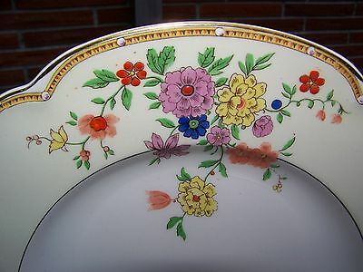 "Pareek Johnson Brothers England ""veronese"" Near Mint Some Crazing Dinner Plate!!"