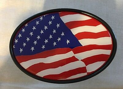 American Flag Trailer Hitch Cover New