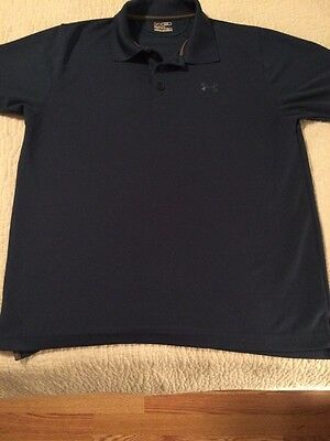 Under Armour Men's Short Sleeve Fitted Polo Shirt Size Medium