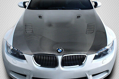 08-13 BMW 3 Series AF1 DriTech Carbon Fiber Body Kit- Hood!!! 112914