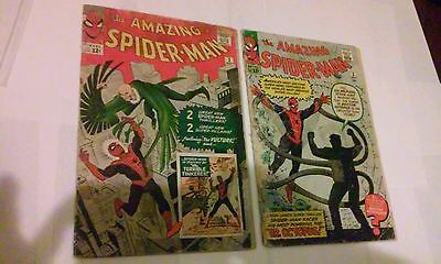 The Amazing Spider-Man #2 (May 1963, Marvel) + 3