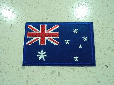 New Australia Flag  Embroidered Cloth Patch Applique Badge Iron Sew On 1