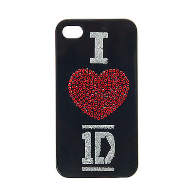 One_Direction Girls and Womens I Love Crystal Phone Case