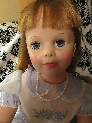 Ideal Patti Playpal long dirty blonde hair~HI face color~Another Gorgeous Patti
