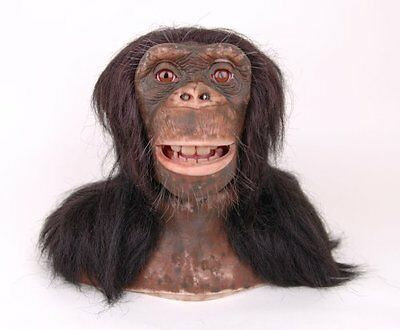 WowWee Chimpanzee Head - Interactive Animated Remote Controlled Monkey Head