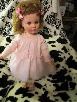"""HUGE Sweet Sue 31"""" tall in lovely pink dress & matching sweater~beautiful doll"""
